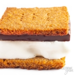 S'mores made with this keto graham crackers recipe