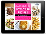 Free Low Carb Recipes E-Book