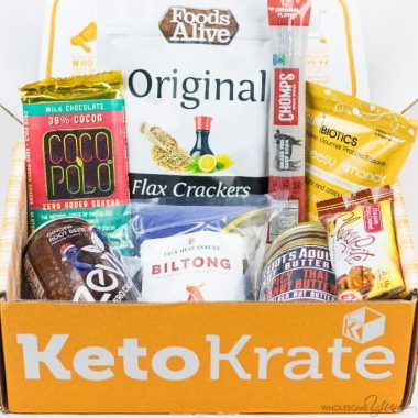 Keto Krate Low Carb Snacks Review – November 2017