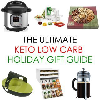 Holiday Gift Guide 2017 with 50+ Keto Low Carb Gift Ideas