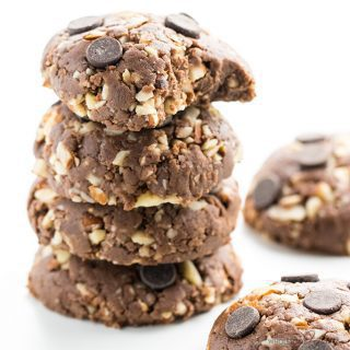 Easy Low Carb Peanut Butter Chocolate No Bake Cookies Recipe