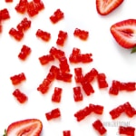 Sugar free gummy bears recipe scattered