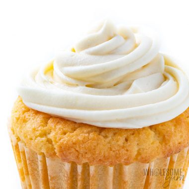 Low Carb Keto Cream Cheese Frosting Recipe Without Powdered Sugar