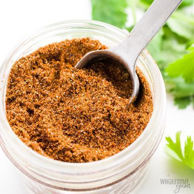 Gluten-Free Keto Low Carb Taco Seasoning Recipe - An easy 5-minute recipe for how to make homemade gluten-free taco seasoning mix! This keto low carb taco seasoning recipe uses simple ingredients you can find at any store. Detail: gluten-free-keto-low-carb-taco-seasoning-recipe-4
