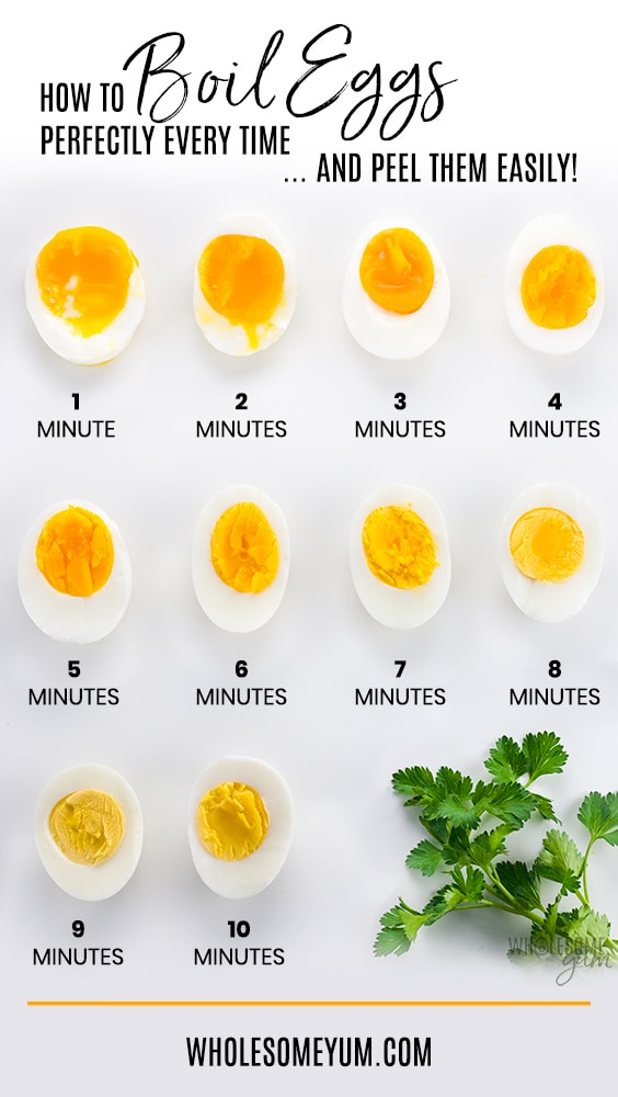 How to cook eggs for easy peeling