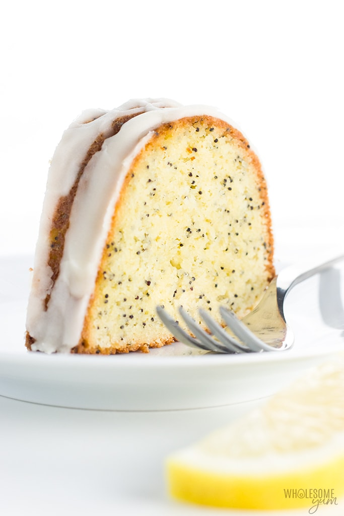 Lemon Almond Flour Pound Cake