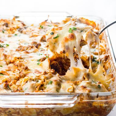 Easy Lazy Cabbage Roll Casserole Recipe – Low Carb