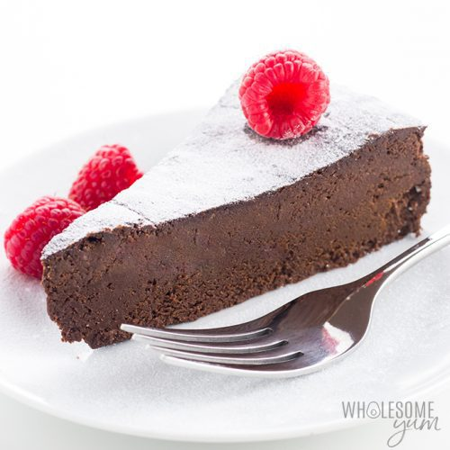 Gluten Free Sugar Free Flourless Chocolate Cake Recipe