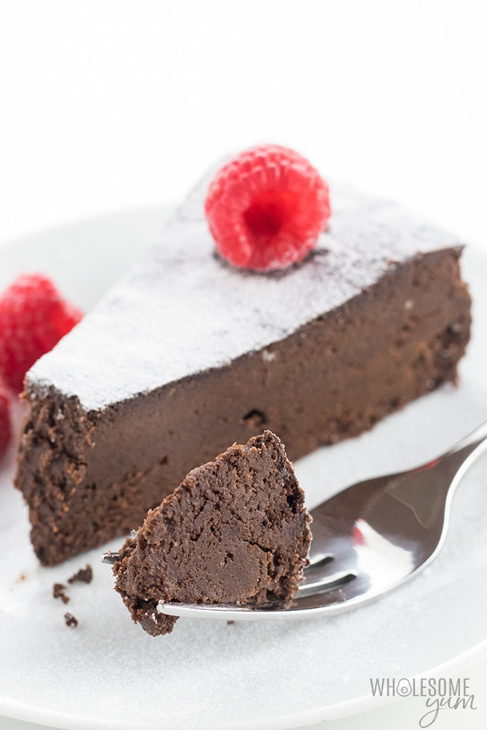 Gluten Free Sugar Flourless Chocolate Cake Recipe