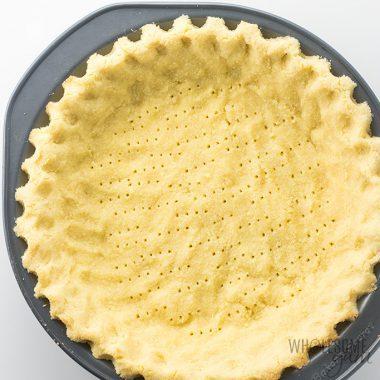 Coconut Flour Pie Crust Recipe – Low Carb & Gluten-Free