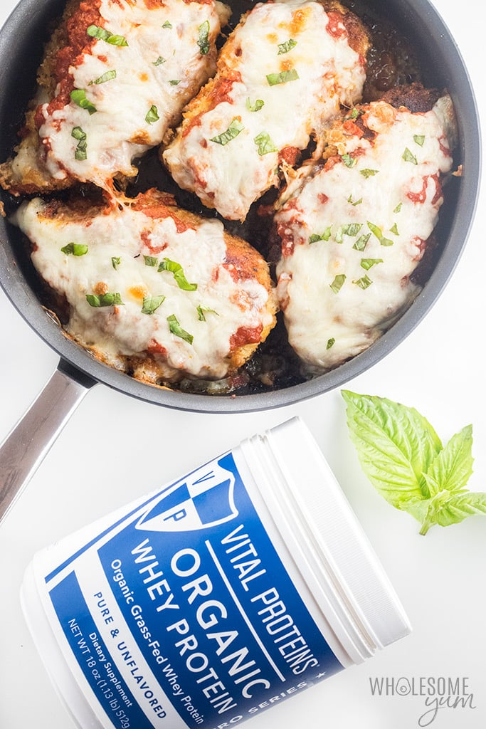 Low Carb Keto Chicken Parmesan Recipe