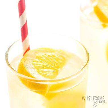 Healthy Sugar-Free Lemonade Recipe – 3 Ingredients