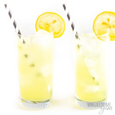 Healthy Sugar-Free Lemonade Recipe – 3 Ingredients