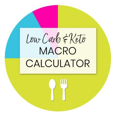 The BEST Free Low Carb & Keto Macro Calculator