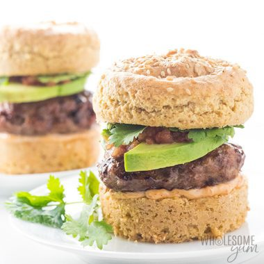 Paleo Chipotle Baked Turkey Burgers Recipe in the Oven - Chipotle turkey burgers are the BEST paleo turkey burgers! You can make these baked turkey burgers in the oven, pan fry them, or even grill them. Detail: paleo-chipotle-baked-turkey-burgers-recipe-in-the-oven-4