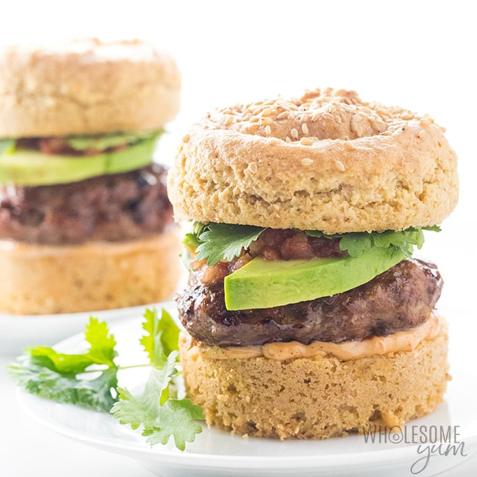 Paleo Chipotle Baked Turkey Burgers Recipe in the Oven - Chipotle turkey burgers are the BEST paleo turkey burgers! You can make these baked turkey burgers in the oven, pan fry them, or even grill them.