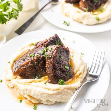 Easy Instant Pot Beef Short Ribs Recipe (Paleo)