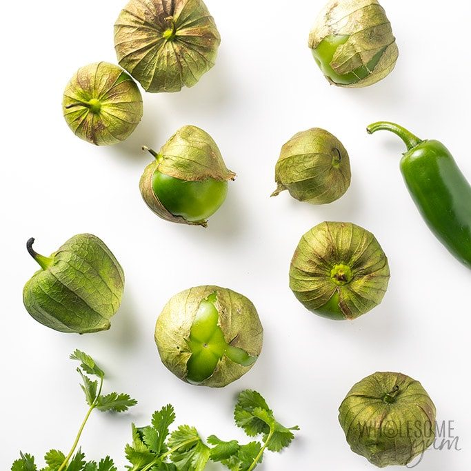 tomatillos for avocado salsa verde