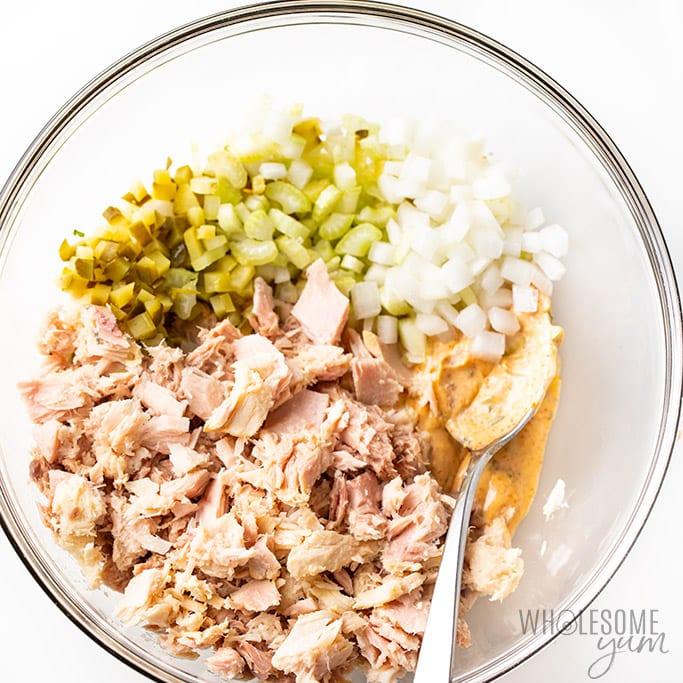 Tuna Salad Recipe Boiled Egg