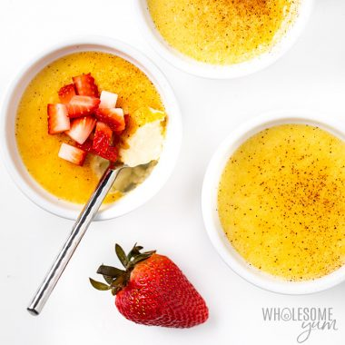 Easy Low Carb Keto Custard Recipe