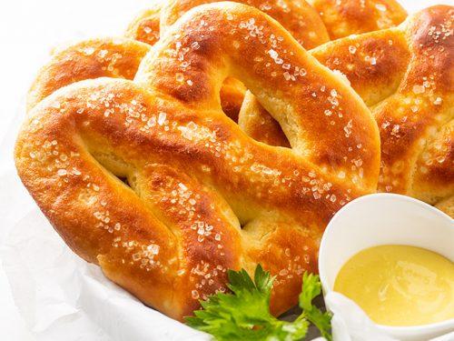Low Carb Gluten Free Keto Soft Pretzels Recipe Wholesome Yum