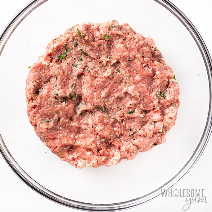 Ground lamb mince meat