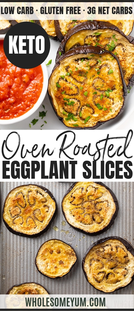 how to roast eggplant - pinterest