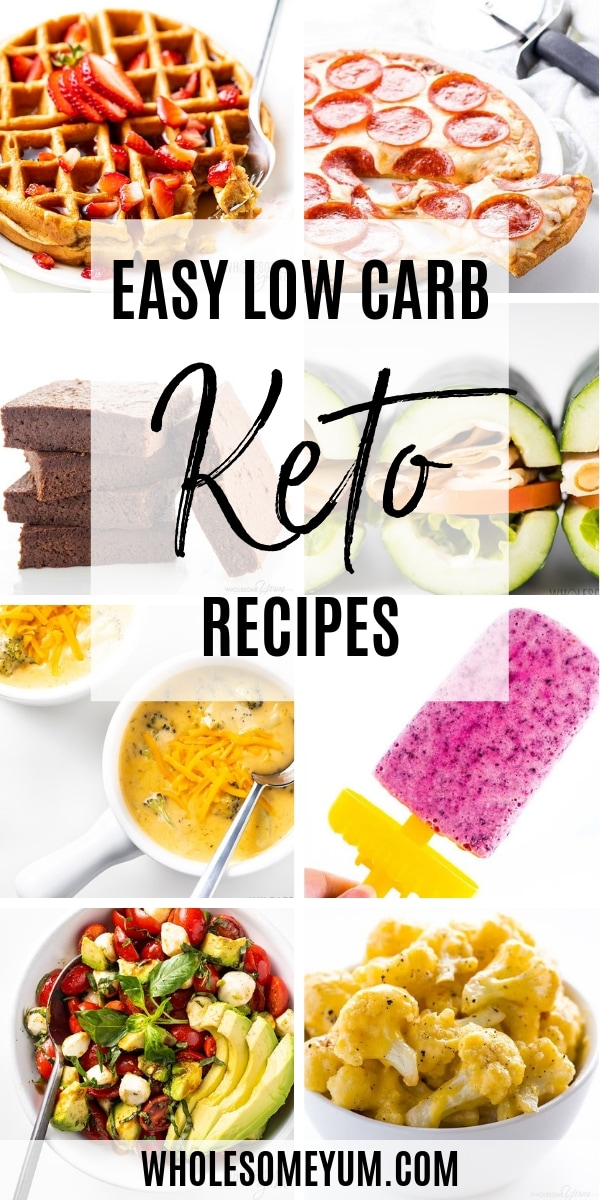 If you are looking for the best easy keto recipes, this is for you. Here you'll find all kinds of simple keto meals - keto dinners, lunches, breakfasts, desserts, and anything else you can think of. Wholesome Yum is a keto blog, so everything on the website is keto friendly.
