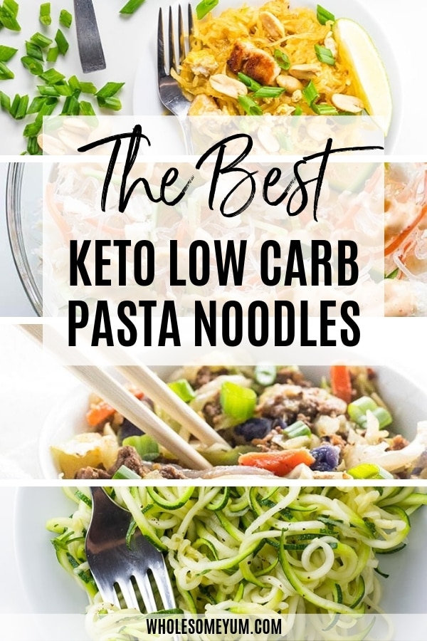 The best keto low carb pasta and noodles