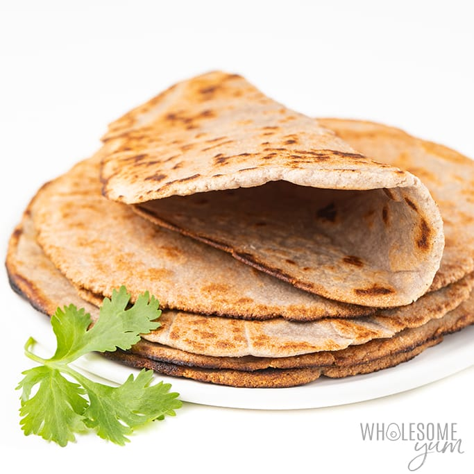 Keto Almond Flour Tortillas Recipe Wholesome Yum