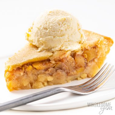 Low Carb Keto Apple Pie Recipe