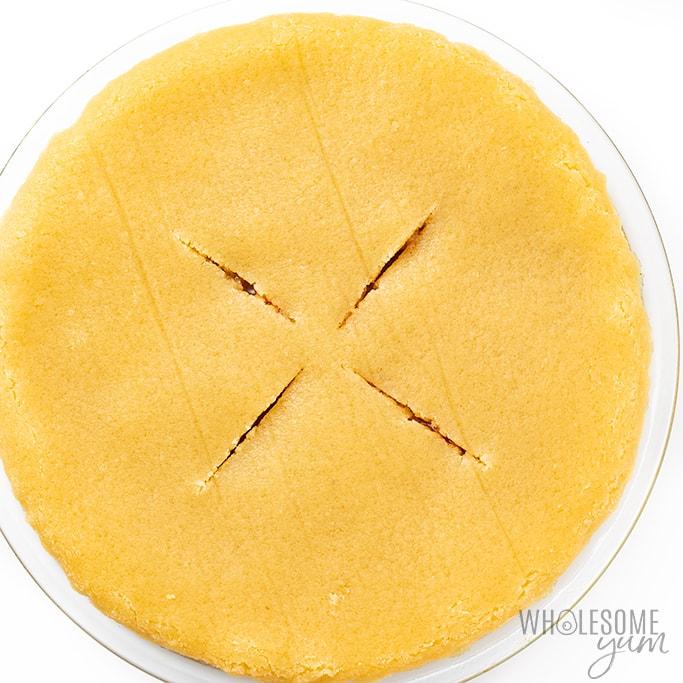 keto apple pie crust