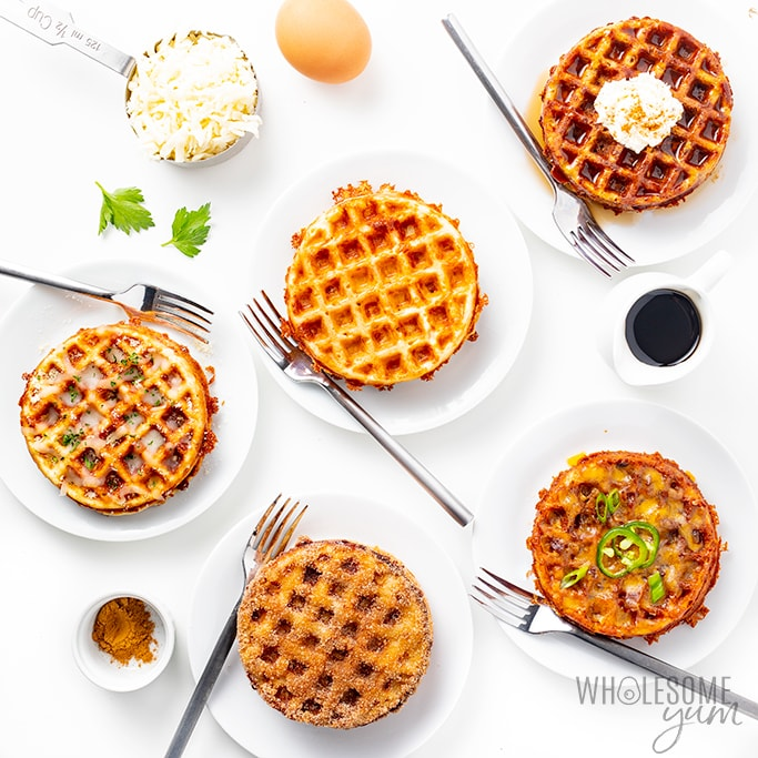 Keto Chaffles Recipe 5 Ways Ultimate Guide Wholesome Yum