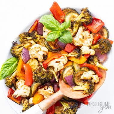 keto oven roasted vegetables
