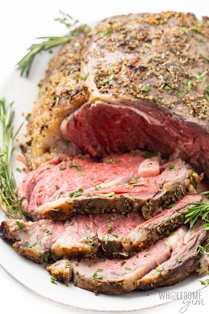 sliced prime rib recipe