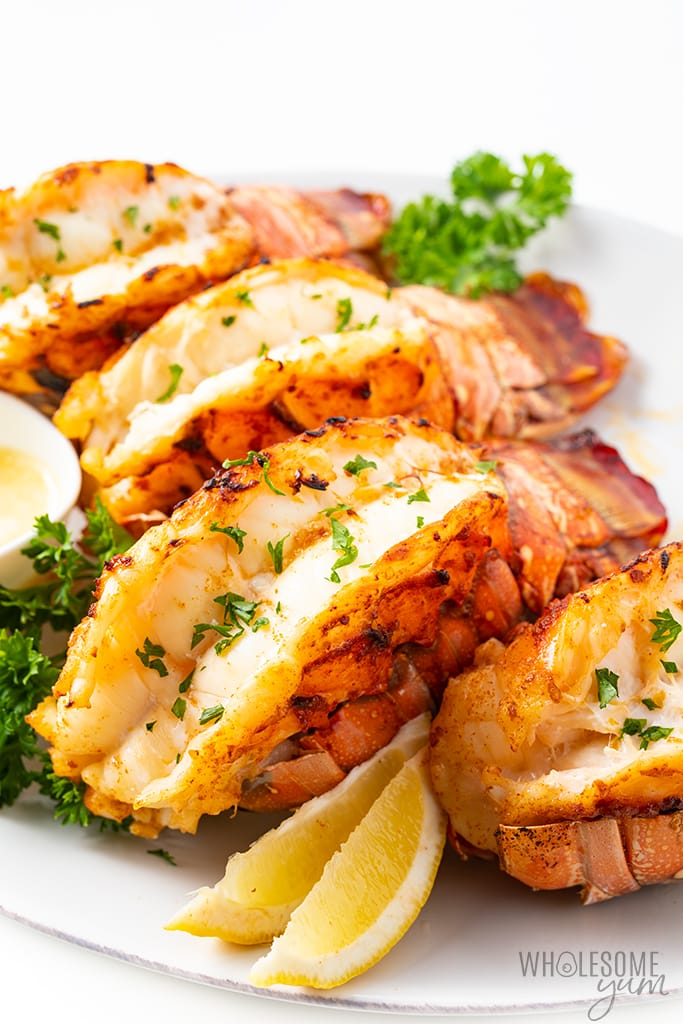tray of best lobster tail recipe
