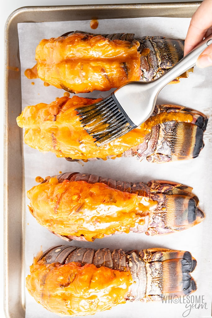 The Best Broiled Lobster Tail Recipe Fast Easy Wholesome Yum