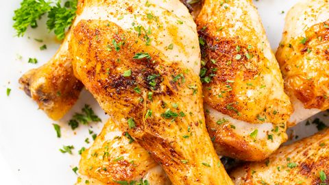 Super Crispy Baked Chicken Legs Drumsticks Recipe Wholesome Yum,How To Clean Fish Tank Filter