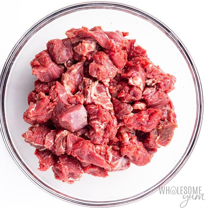 seasoning beef for easy beef stew