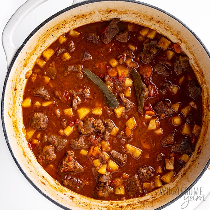 easy beef stew cooking