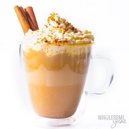 keto diet pumpkin spice latte