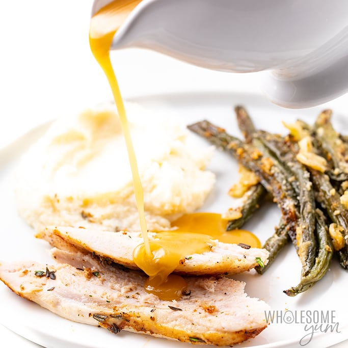 can you make gravy on a ketogenic diet