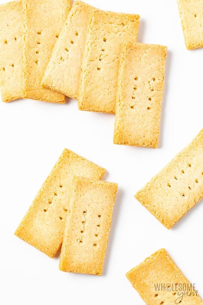 Paleo Low Carb Keto Crackers Recipe With Almond Flour