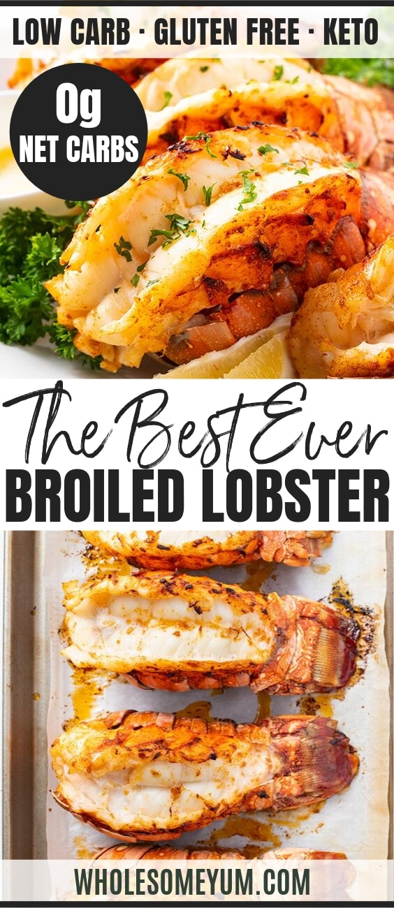 broiled lobster tail - pinterest
