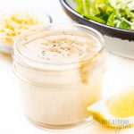 jar of best Caesar dressing