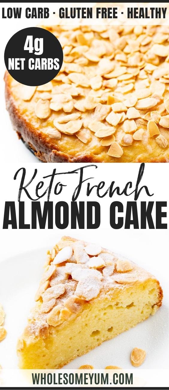 almond flour cake - pinterest