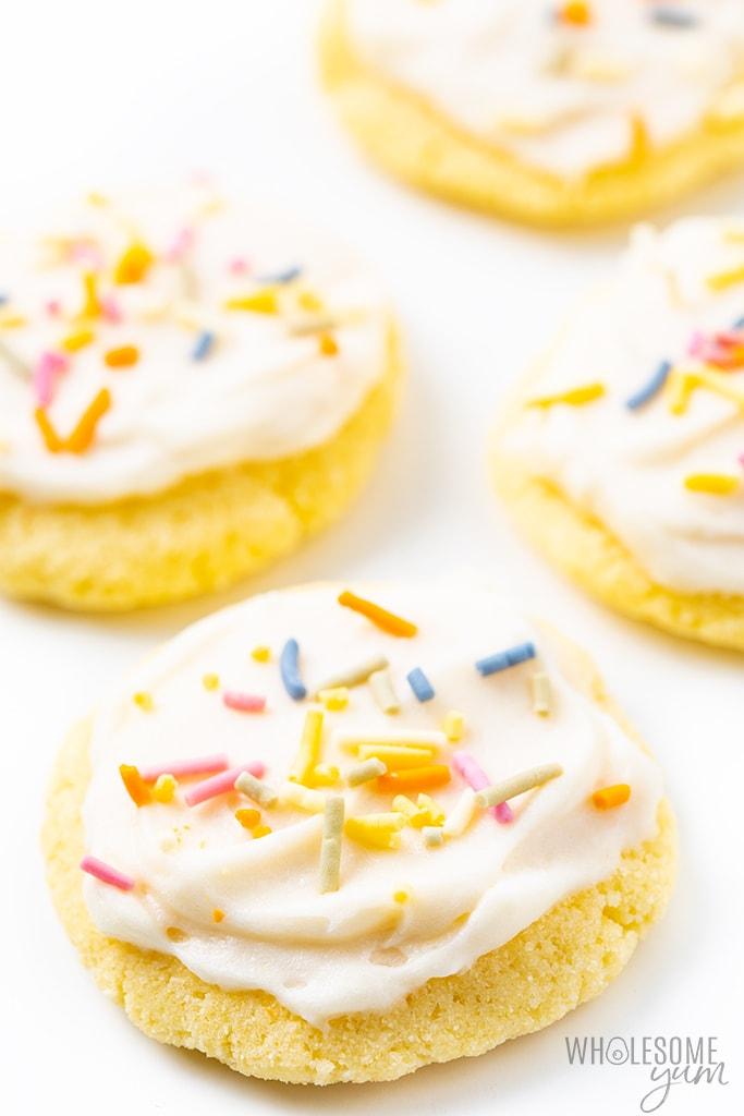 Keto Coconut Flour Sugar-free Cookies