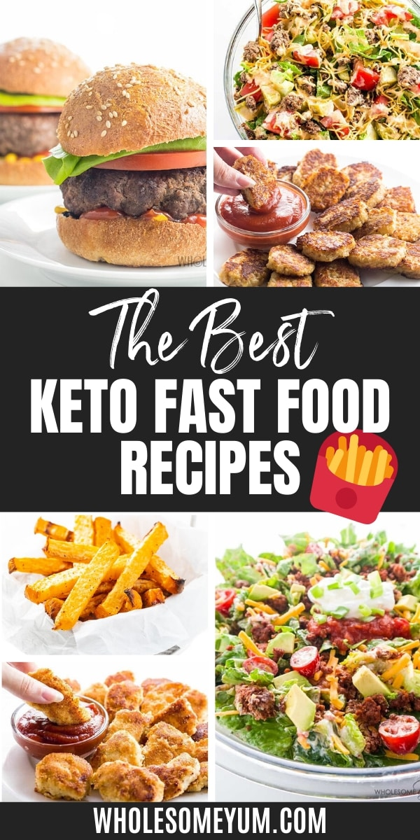 The Best Keto Fast Food Guide 30 Restaurants Wholesome Yum