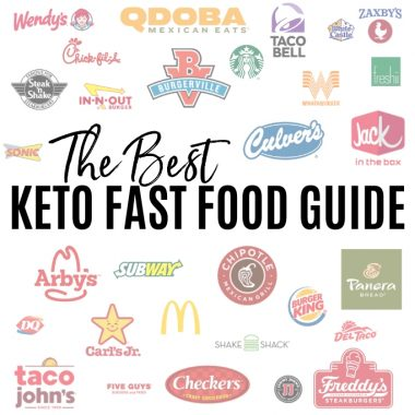 The Best Keto Fast Food Guide