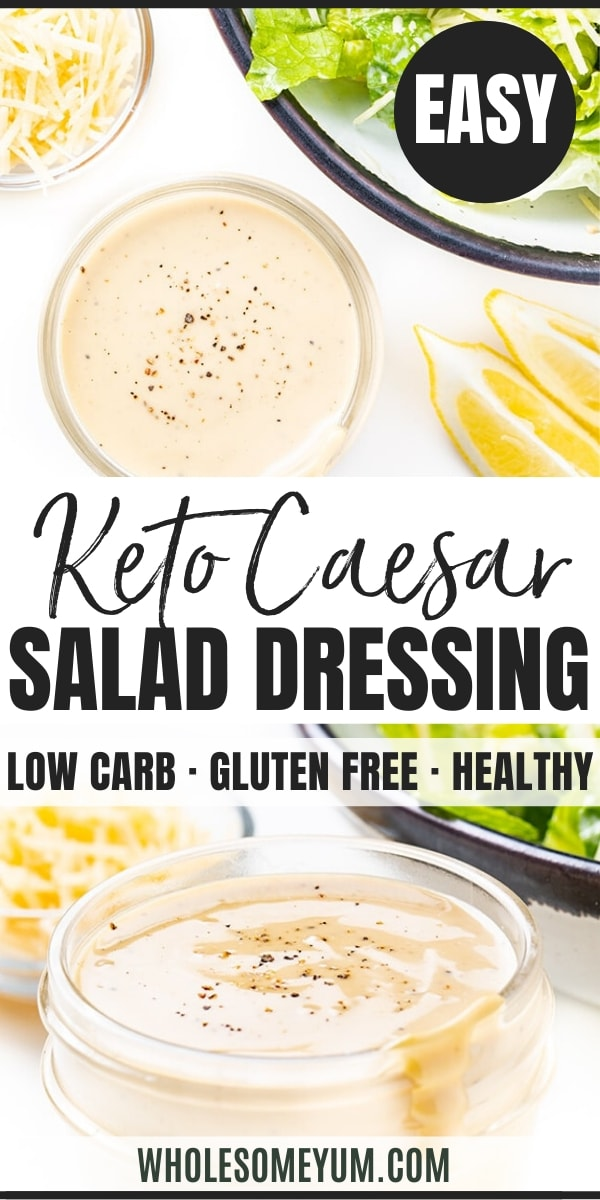 how to make Caesar dressing - pinterest
